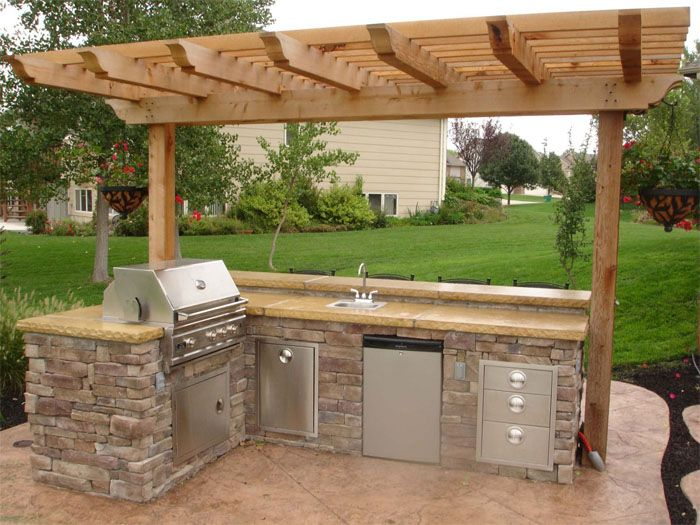 Outdoor Kitchens Rosenbaum S Landscaping And Nursery